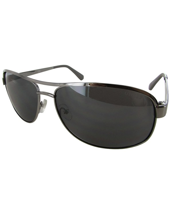 GU6874 Navigator Fashion Sunglasses Silver