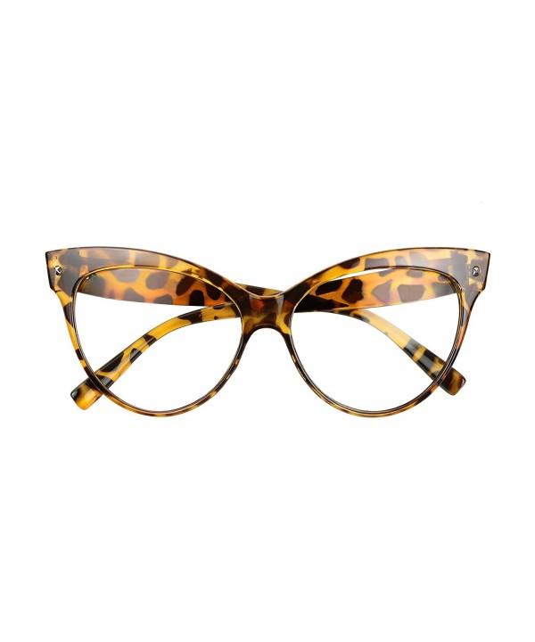 ShadyVEU Vintage Oversize Fashion Sunglasses