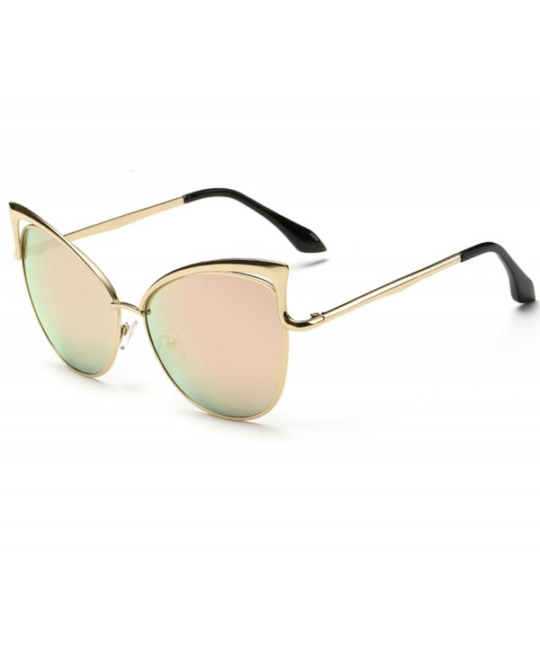 Heartisan Vintage Mirror Polarized Sunglasses
