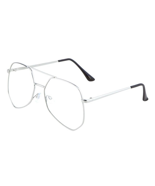 TWING Aviators Geometric Sunglasses AV 1525 CLR
