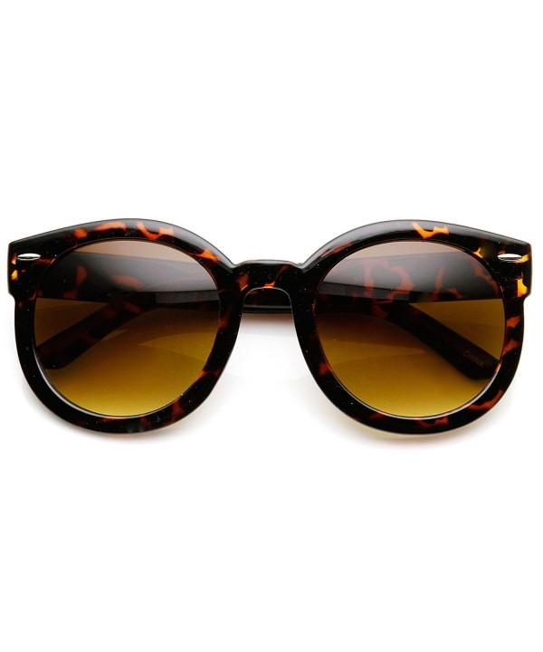zeroUV Womens Plastic Sunglasses Oversized