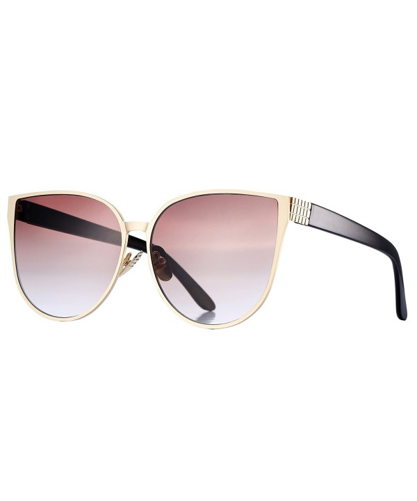 Pro Acme Oversized Mirrored Sunglasses