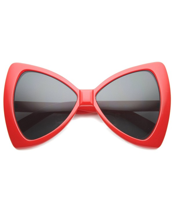 zeroUV Colorful Oversize Butterfly Sunglasses
