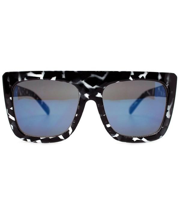 Quay Oversized Sunglasses Tortoise Mirror