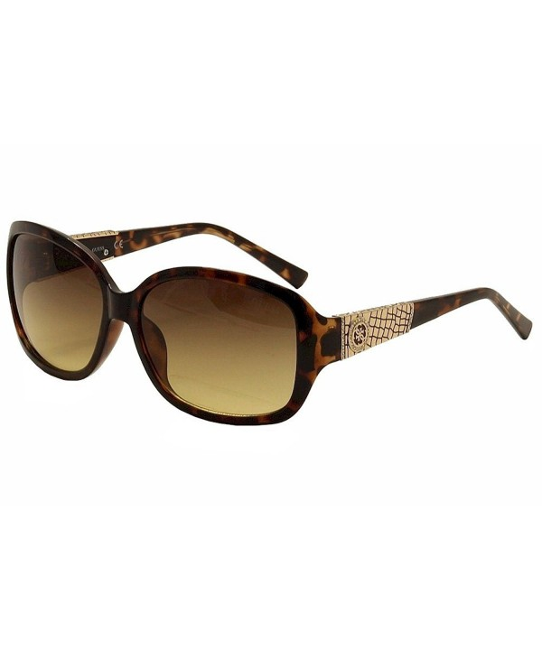 GUESS Womens Acetate Rectangle Sunglasses