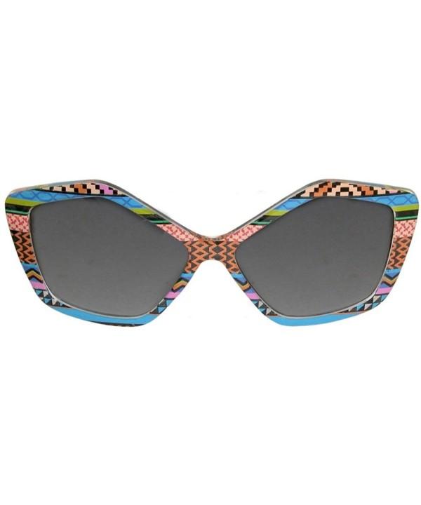 Designer Inspired Sunglasses Embellished Geometric