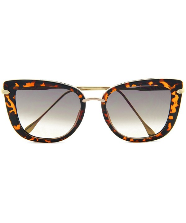 Oversized Sunglasses Runway Fashion Tortoise