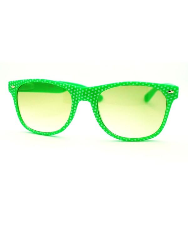 Polka Wayfarer Sunglasses School Classic