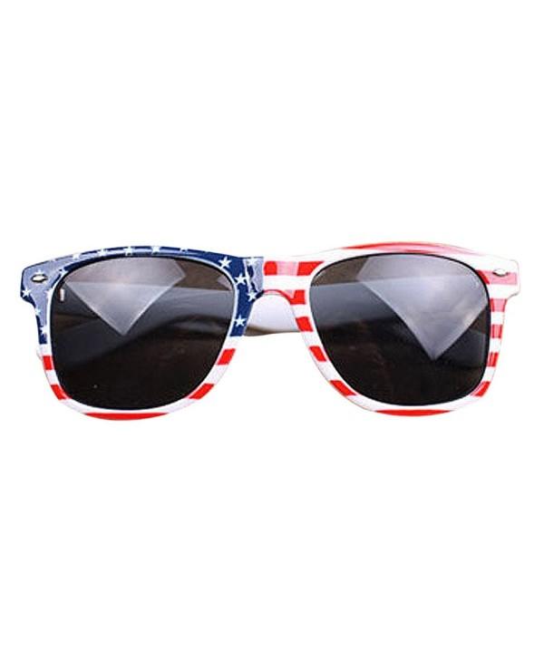 ZOMUSA Vintage Sunglasses%EF%BC%8CWomen American Patriotic