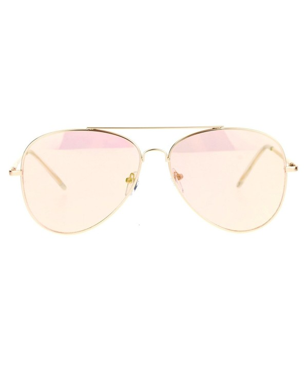SA106 Womens Mirror Aviator Sunglasses