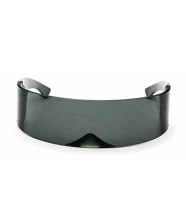 Futuristic Cyclops Sunglasses Around Monoblock
