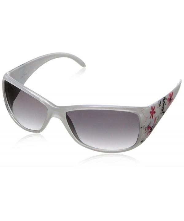 MLC Eyewear Floral Wrap Sunglasses
