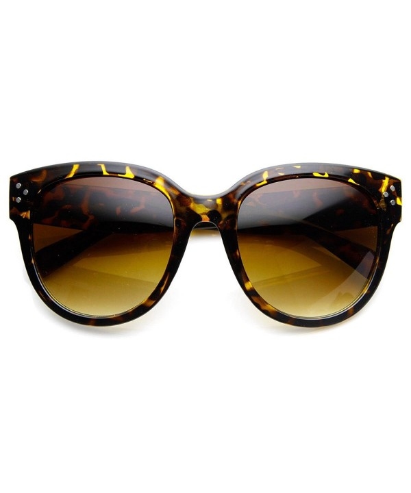 Womens Oversized Fashion Sunglasses Tortoise
