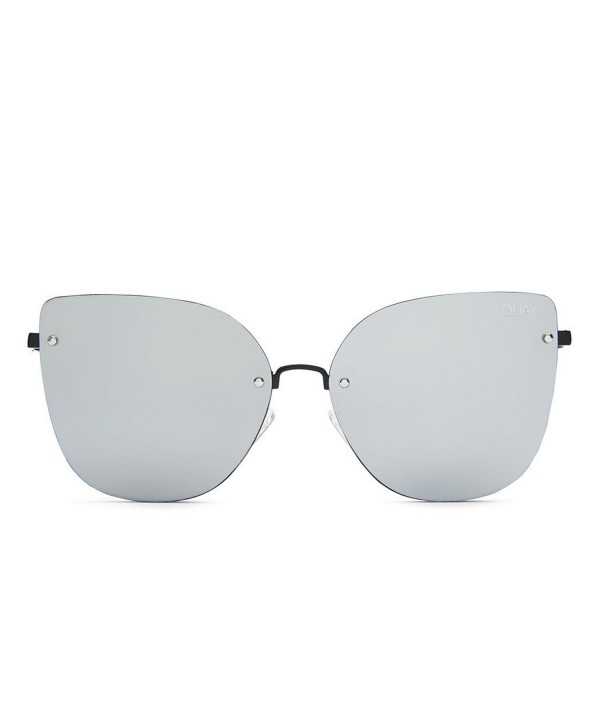Quay Australia Womens Sunglasses Mirrored