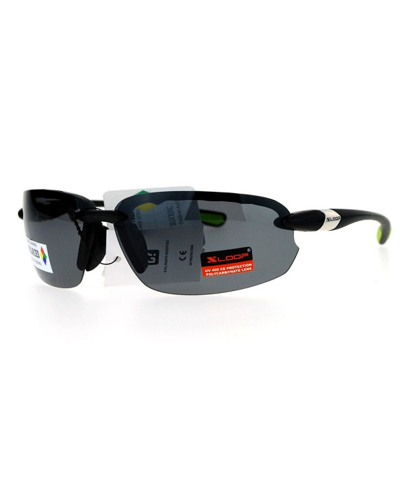 Polarized Sunglasses Rimless Sports Rectangular