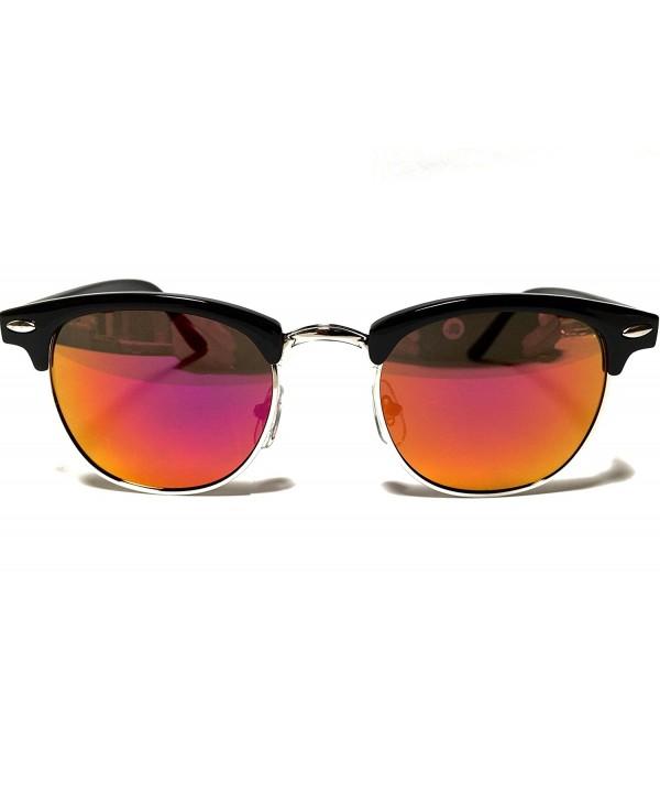 Goson Classic Silver Clubmaster Glasses