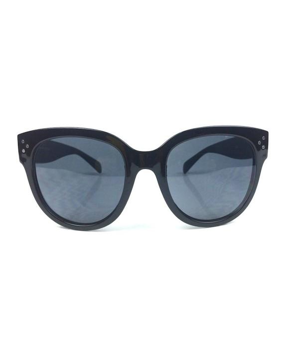 Oversized Vintage Fashion Keyhole Sunglasses
