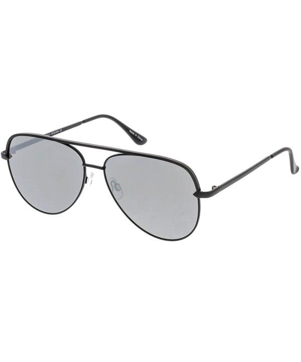 sunglassLA Premium Oversize Sunglasses Crossbar