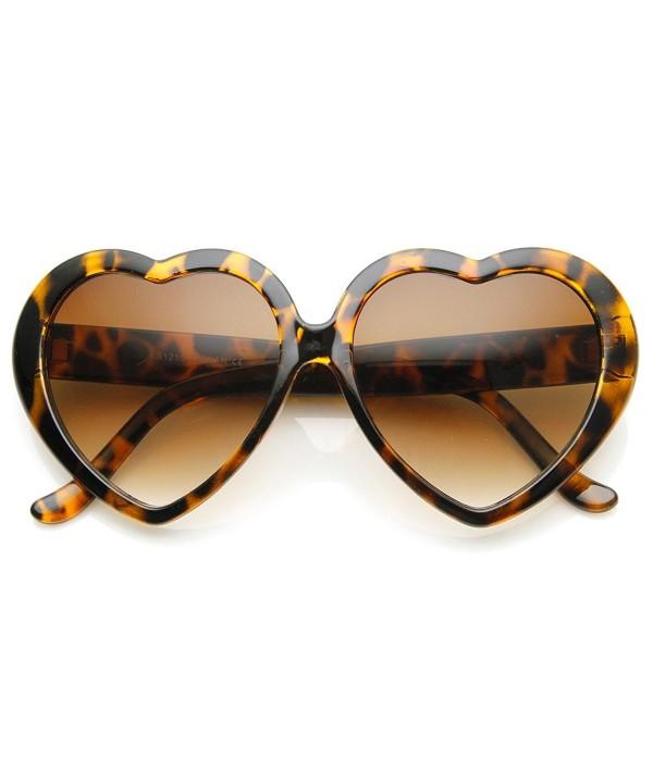 zeroUV Oversized Sunglasses Fashion Tortoise