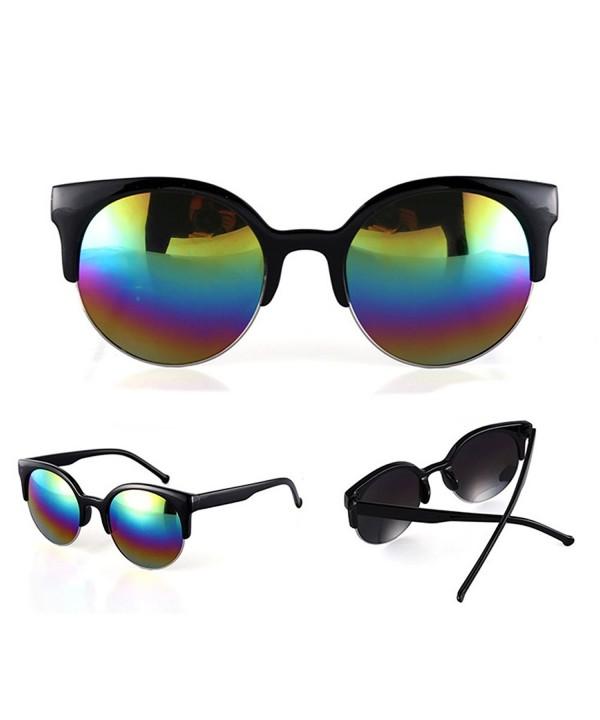 Oversized Sunglasses Designer MEXUD Multicoloured