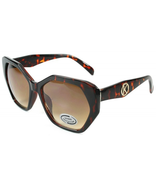 Aloha Eyewear Hexagon Sunglasses Tortoise