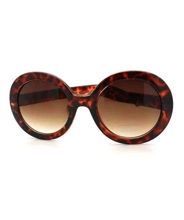 Fashion Sunglasses Oversize Designer Tortoise