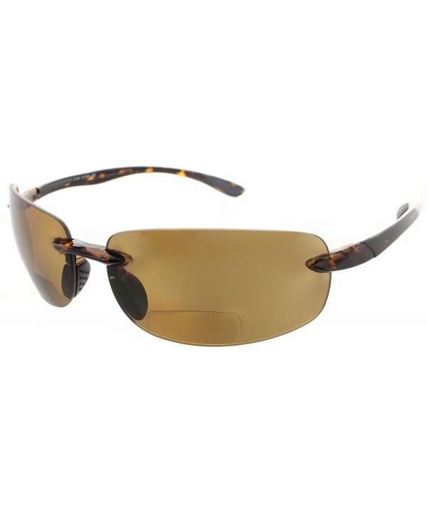 Bifocal Sunglasses Rimless Readers Lightweight