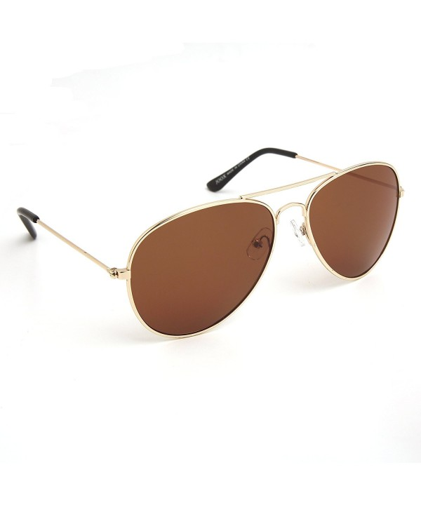 Classic Aviator Sunglasses Protection Shiny