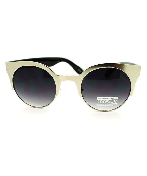 Silver Cateye Sunglasses Fashion Vintage