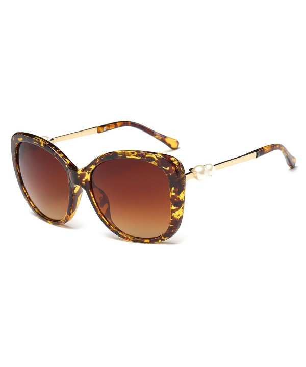 Cramilo Womens Fashion Oversized Sunglasses