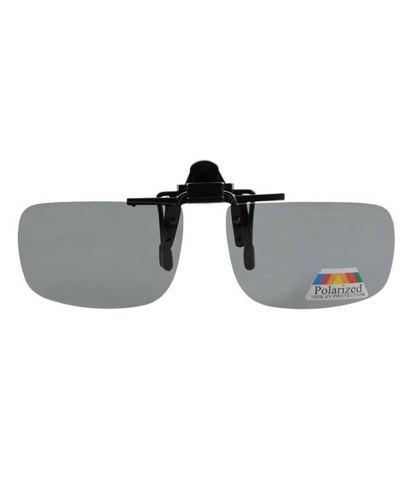 Eyekepper Rectangular Polarized Clip Sunglasses