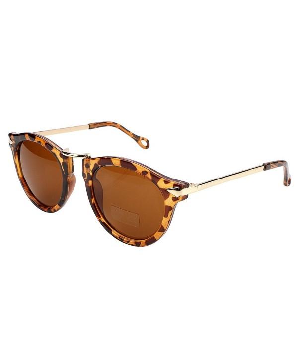 FEISEDY Vintage Design Plastic Sunglasses