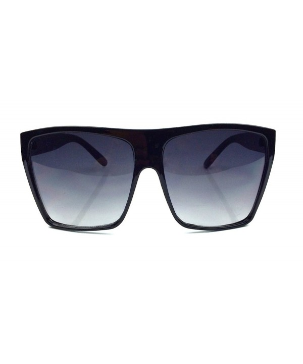 Square Aviator Oversized Large Sunglasses