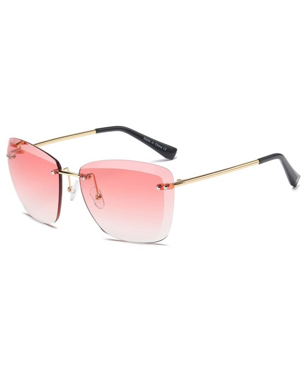 Cramilo Fashion Designer Oversize Sunglasses