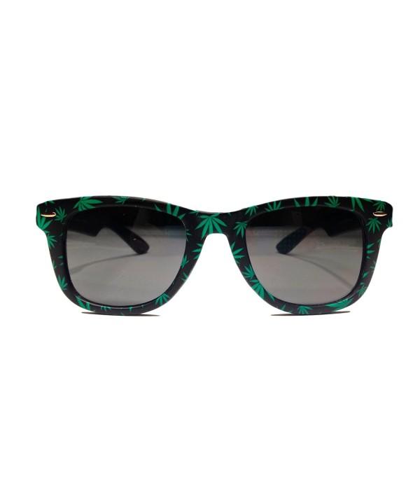 My Sunnies Weed Leaf Sunglasses