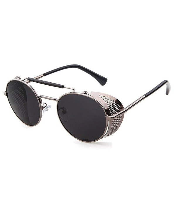 Flowertree%C2%AE STY056 Shield Sunglasses C3 grey
