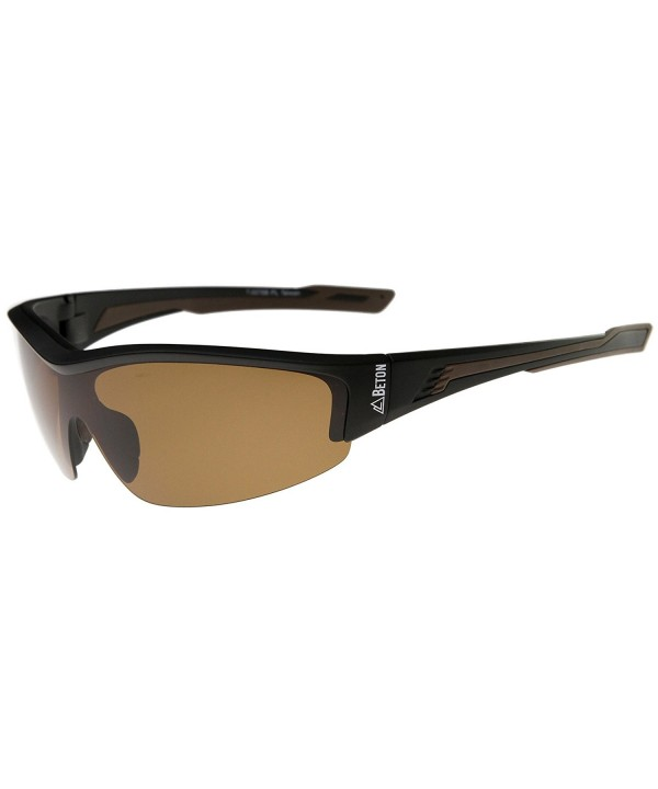 Beton Polarized Shatterproof Semi Rimless Sunglasses