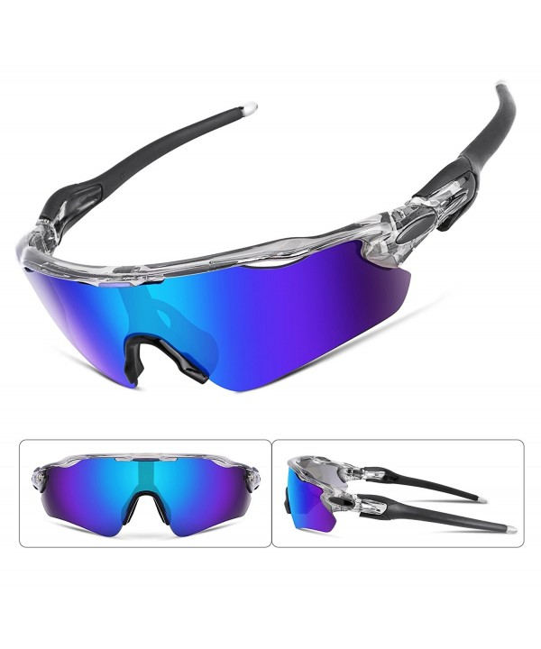 FEISEDY Polarized Sunglasses Changeable Cycling