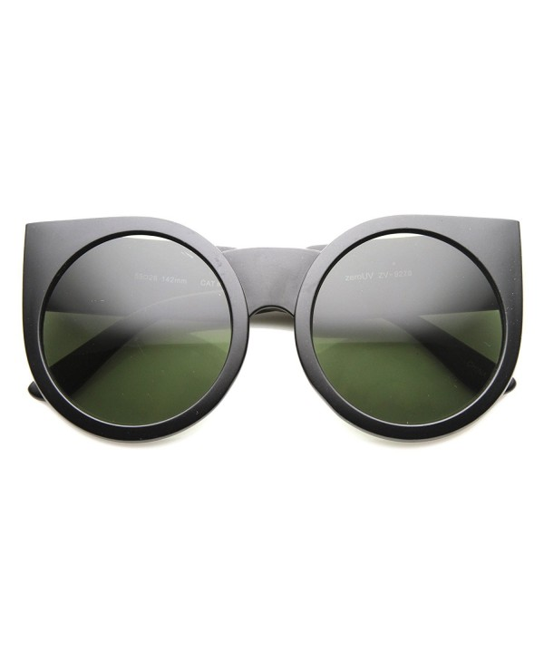 zeroUV Womens Oversized Sunglasses Matte Black