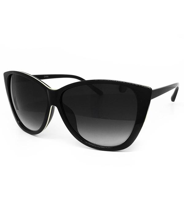 O2 Eyewear Oversize Wraparound Sunglasses