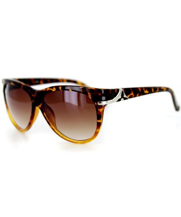 Designer Sunglasses Rounded Wayfarer Youthful