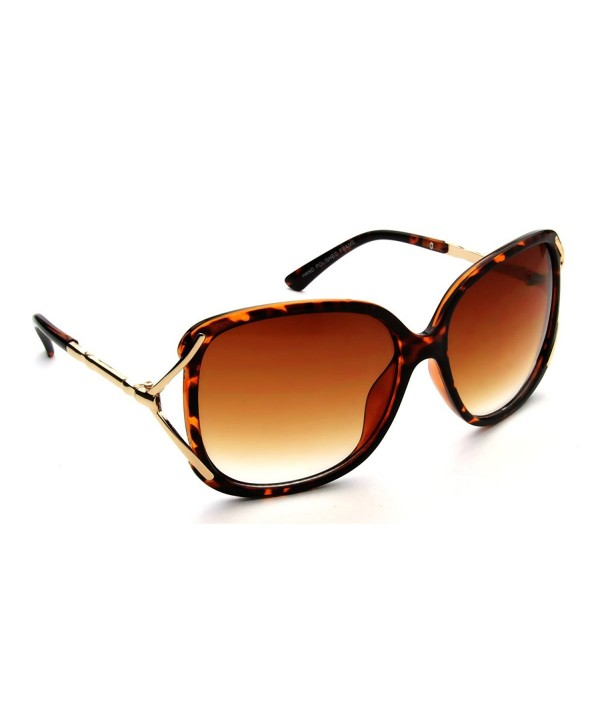 Eyewear Designer Celebrity Tortoise Sunglasses
