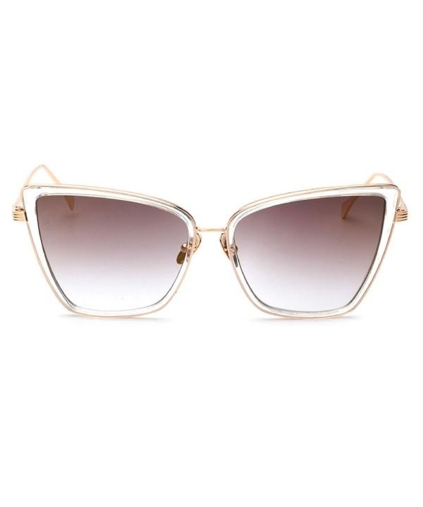 TIJN New Large Mirrored Sunglasses