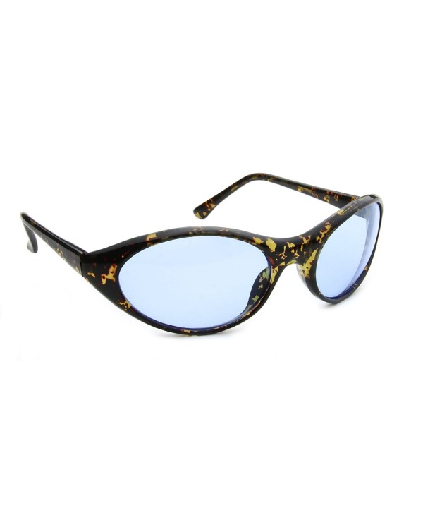 Oval Sport Women Curved Sunglasses