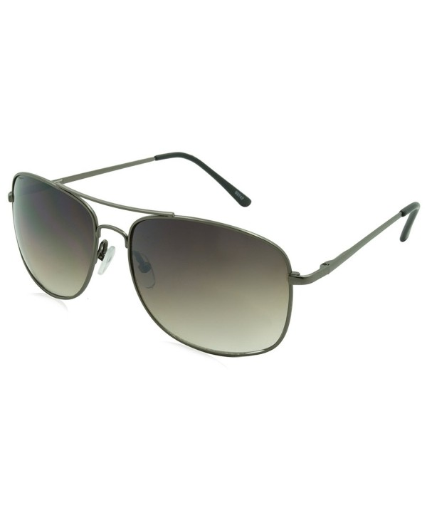 Alta Vision Sunglasses Aviator Black FlexSquareAviatorGUN