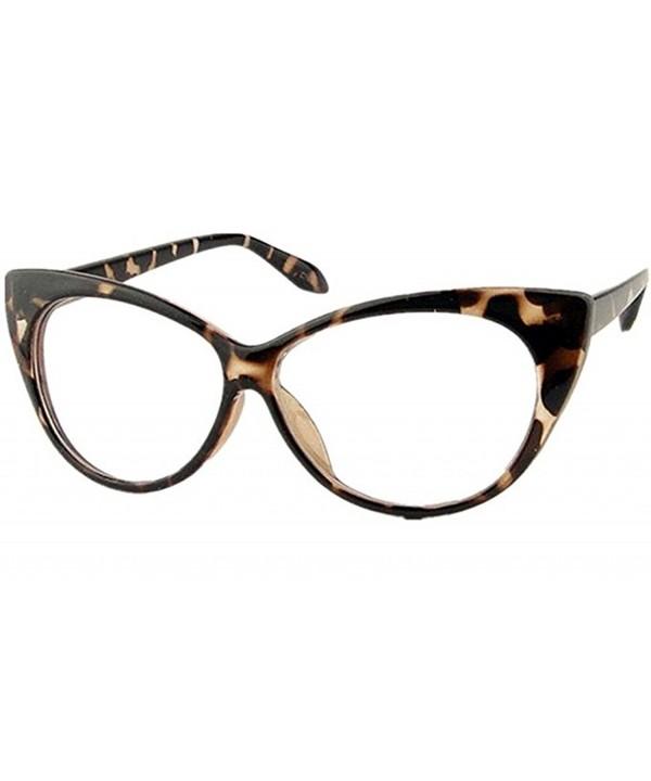 Mogor Womens Fashion Eyeglasses Leopard