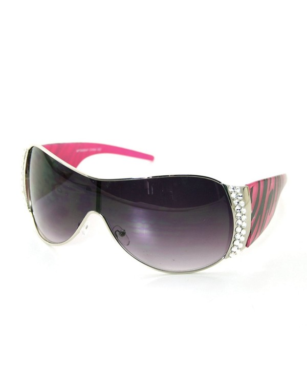 Fashion Shield Sunglasses Swarovski Elements