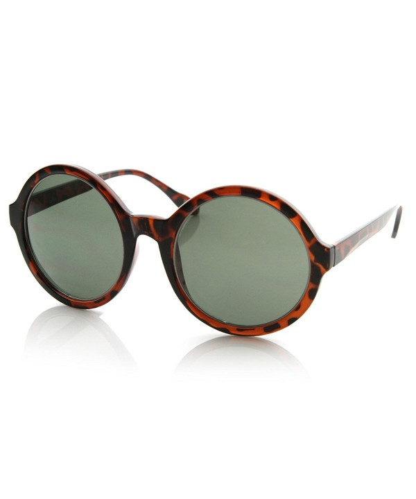 zeroUV Inspired Oversized Sunglasses Tortoise