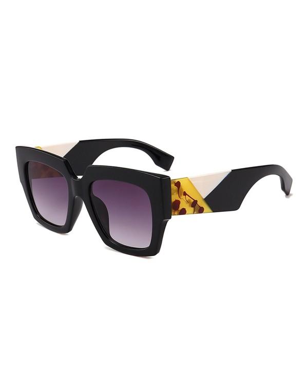 Gobiger Oversized Sunglasses Designer Gradient