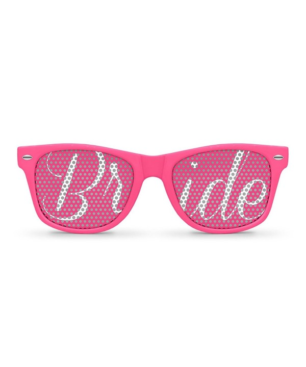 BRIDE Pink Retro Party Sunglasses